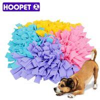 Pet Dog Snuffle Mat Smell Training Pad Interactive Toys Polar Fleece Cloth Pet Nosework Snack Searching