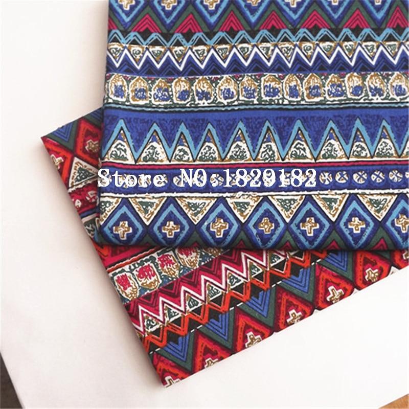 에스닉 패브릭 패치 워크 Quilts에 대 한 목화 린 넨 - 예술, 공예, 바느질