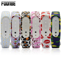 For Mi Band 2 Pineapple Lips Replacement Strap for Xiaomi 2 Silicone Wristbands for MiBand 2 For Mi Band 2 Bracelet