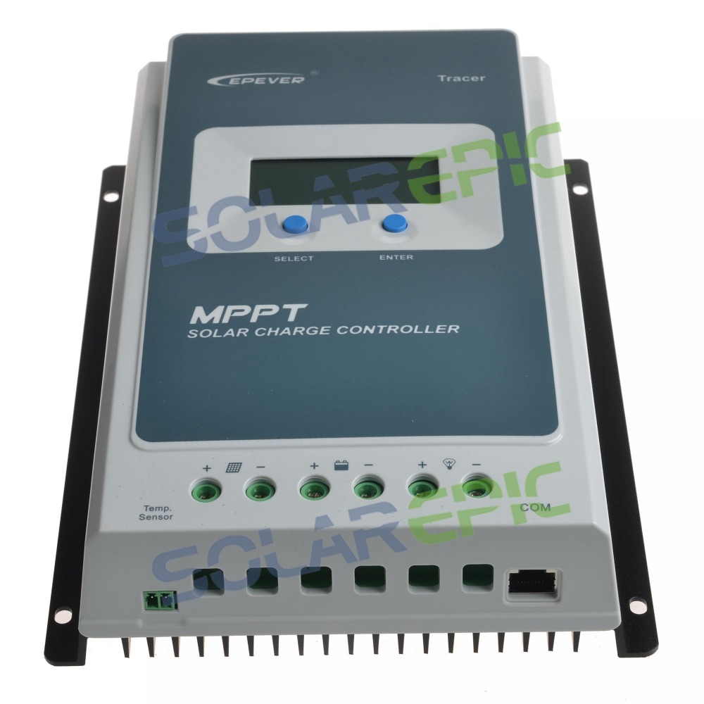 10A MPPT Solar Charge Controller Battery Regulator Max 100V PV Input 12V/24VDC Auto Epever Solar Controller Tracer AN Series10A MPPT Solar Charge Controller Battery Regulator Max 100V PV Input 12V/24VDC Auto Epever Solar Controller Tracer AN Series