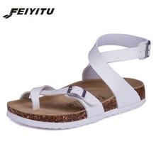 FeiYiTu Women Sandals Cork Shoes Girls Slippers Summer Flip Flops Zapatos Mujer Sandalias Femininas Pink white black red