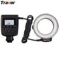 Macro 48pcs LED Ring Flash Light RF550D For Canon Nikon Panasonic Pentax Olympus DSLR Carema