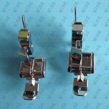 2 PCS NARROW LOW SHANK ZIPPER FOOT LEFT & RIGHT 5011-3L X59370051 55411 BROTHER SINGER #CY-7306+CY-7300L