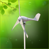 600W Ac 12v 24v Small Wind Generator Wind Turbine Horizontal Axis CE