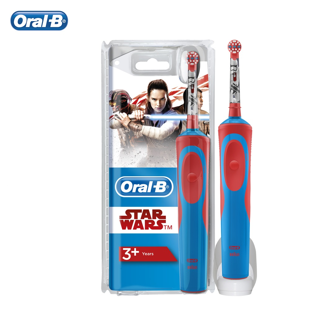Oral B Stages Power Rechargeable Electric Brush for Children Kids with Disney Star Wars Characters Whitening toothbrush image