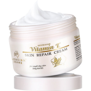 Australia GM VITAMIN E Skin Repair Day Body Hand Foot Cream for Refresh Soothe Dry Damaged Skin Reduce Stretch Marks Age Spots australia gm skincare seat ve skin repair cream lanolin oil day cream prevents dehydration refresh sooth dry and damaged skin