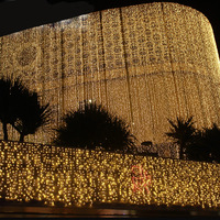 8x3m Christmas Lights Outdoor Indoor Garlands Waterfall Curtain LED Lights String Waterproof Wedding Decoration Luces