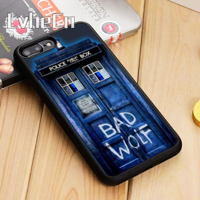 Doctor Who Tardis Bad Wolf Dr Who FOB iphone case