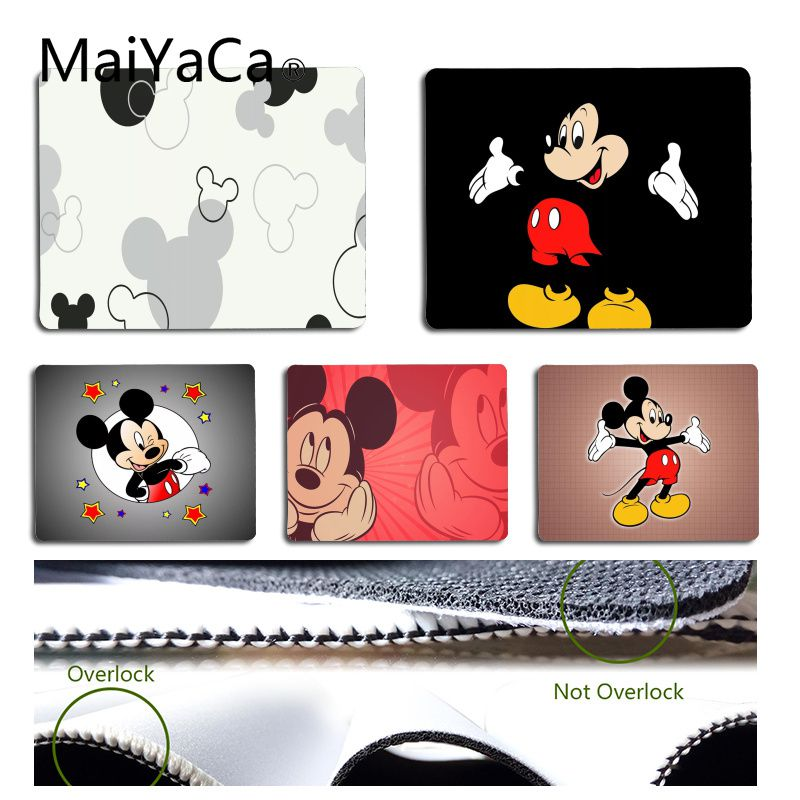 MaiYaCa In Stocked Mickey Mouse Laptop Computer Mousepad Size For 18x22cm 25x29cm Small Mousepad