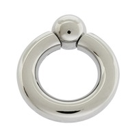 7mm thick stainless steel piercing ring body jewelry nipple genital piercing jewelry