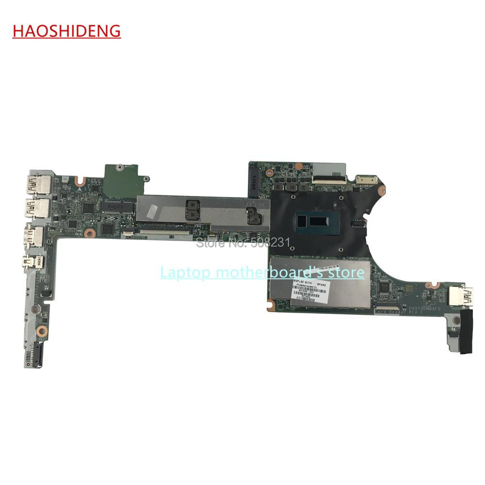 HAOSHIDENG 801505-501 801505-001 DA0Y0DMBA for HP Spectre X360 13-4000 Series Laptop Motherboard with i7-5500U 8GB ,fully Tested