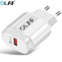 ФОТО olaf usb charger quick charge 3.0 fast charger for samsung iphone portable wall usb power adapter charging for phone chargers