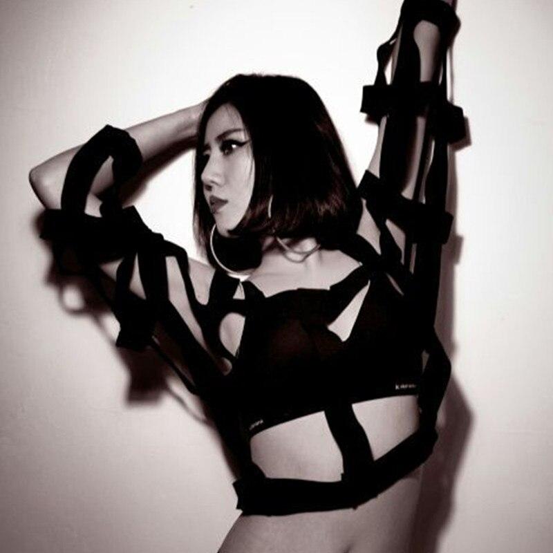 Sauvage Noir Mesh Chaqueta Manteaux Harajuku Grand Vestes Robe Coupe Femmes Mujer Bretelles Taille Manteau Rétro Personnalisé Plus La vent Et Vêtements wI1BqEFR