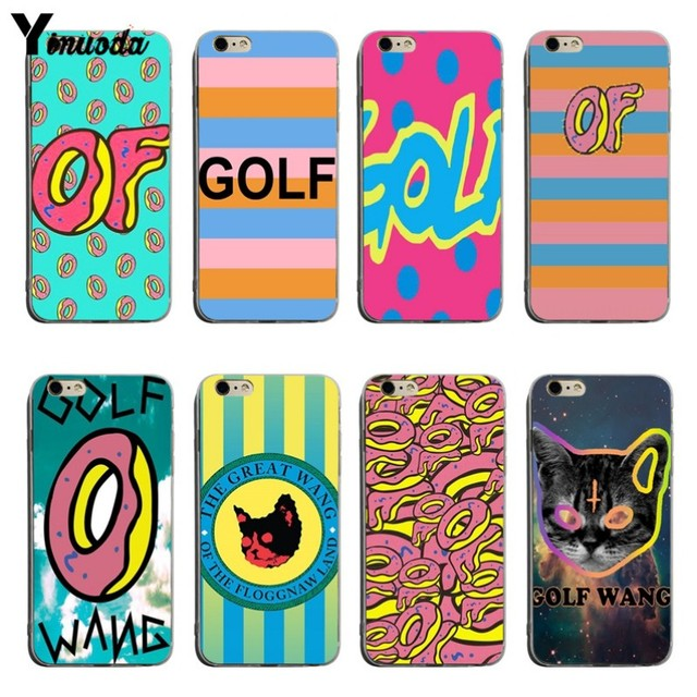 f51cf8bbfd9c Yinuoda New Golf Wang Odd Future Soft silicone Cover case For iPhone X XS  XR XSMax 5 5S SE 8 8plus 7 7plus 6s 6sPlus