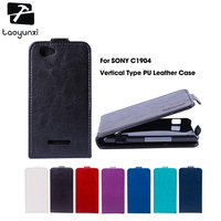 TAOYUNXI Magnetic Flip   Leather     Case   For Sony C1905 For Sony Xperia M Dual C1904 C2005 4.0 inch C1905 C2004 Cover