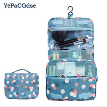 Hanging Travel Storage Bag Toiletry Kit Cosmetic organizer Carry Pockets For Womens Gril Gift Traveling Bathroom