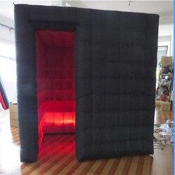 Stand de Photo gonflable de 8.2 ft | Belle cabine gonflable pour bal, arrière-plan de fête, vente avec équipement de construction, tente de mariage portative