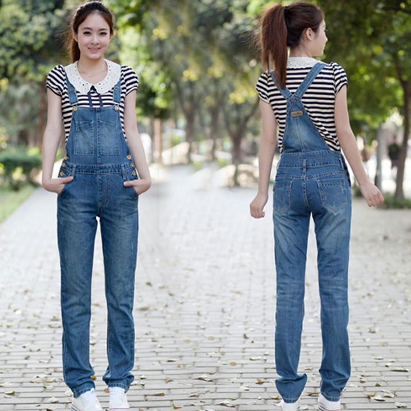 Popular Women Denim Jumpsuit Pants-Buy Cheap Women Denim Jumpsuit ...