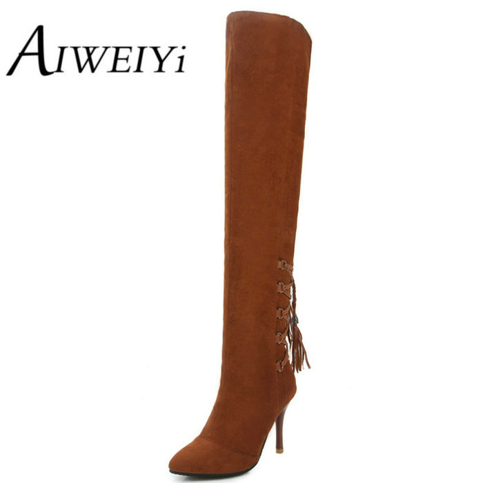 Womens Thigh High Yellow Boots Promotion-Shop for Promotional ...