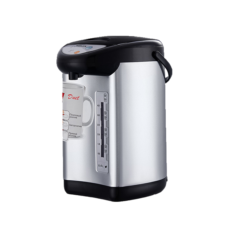 Electric kettle hot water bottle 5L 750W water supply stainless steel vnutr.bak3 way to keep the water temperature then boil