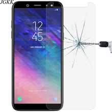 JGKK Matte Tempered Glass For Samsung Galaxy A3 A5 A7 2015 2016 2017 Frosted Screen Protector For Samsung A6 A8 Plus 2018 Film