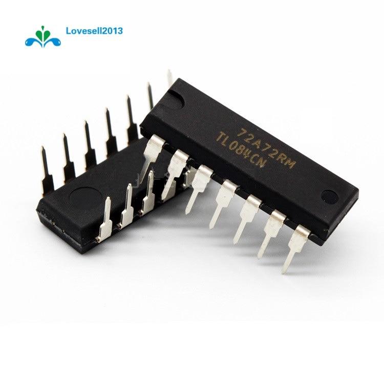 10PCS TL 084 ACDRG 4 Ic Jfet Opamp 3MHZ Quad 14 pequeño esbozo circuito integrado TL084 TL084A 084A TL084AC 084AC