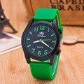 2016 Verão Moda Esportes Relógios Das Mulheres Dos Homens Relógios de Quartzo de Silicone Relógios Vestido Ocasional Relógio de Pulso Relogio masculino