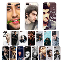 Zayn Malik soft cover cases for iphone xs mxs 6 8 6s 7 plus xr 5s x se 5 POP singer Cellphones shell Funny Unique silicone Coque