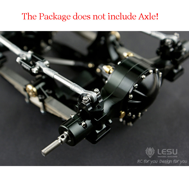 Metal Rear Dual Suspension Set ONLY for LESU 1/14 Tmy   RC Axle Truck DIY Model TH02083