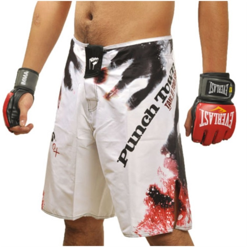 MMA The Tiger Muay Thai Kickboxing Quick-Dry Long Pants Fighting Boxing Workout