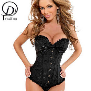 MUKATU Sexy Women Corselet Corset and Bustier