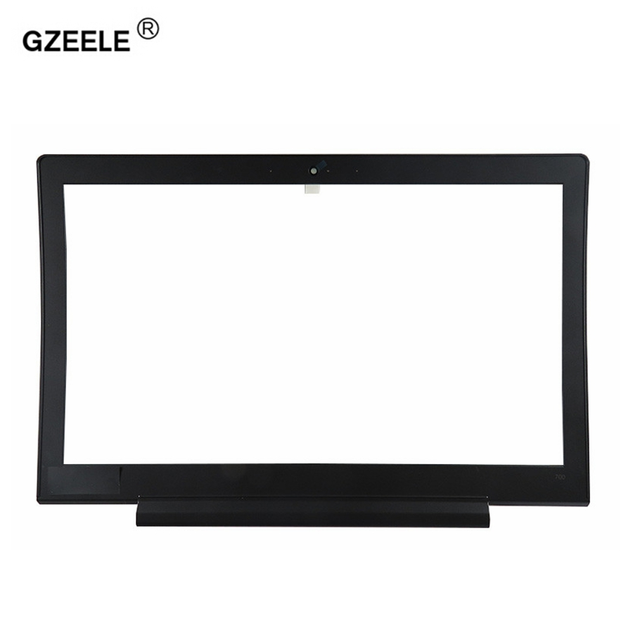 GZEELE NEW LCD Front Bezel Cover Screen Frame for Lenovo IdeaPad 700 700 15ISK 700 15-in Laptop Bags & Cases from Computer & Office