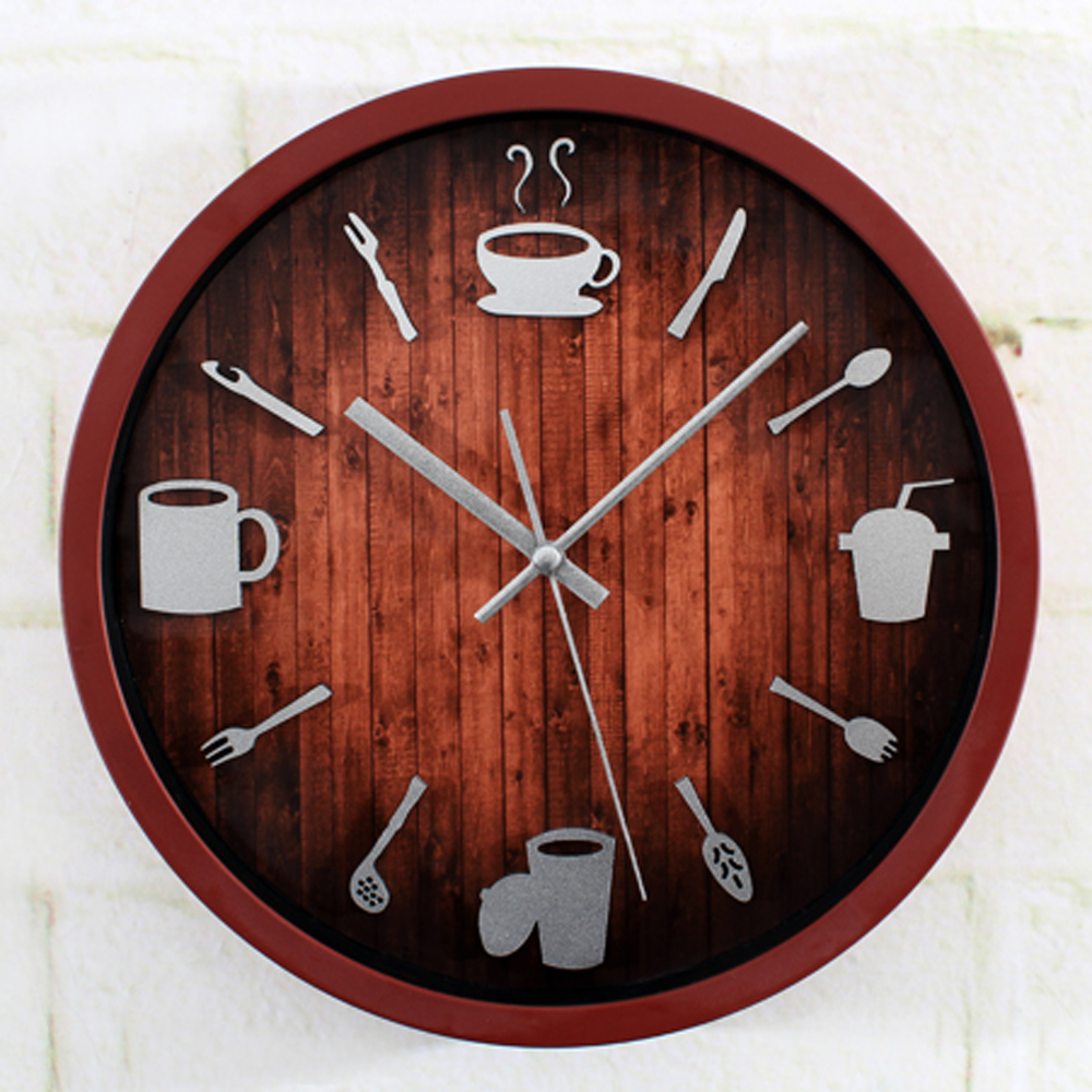 Online Buy Wholesale round clock wall from China round clock wall