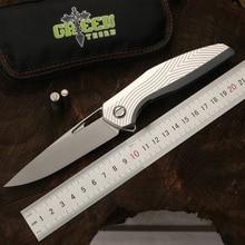 Verde espina F111 3D plegable cuchillo D2 hoja de aleación de aluminio de  la aviación de c1c20cb0a8bf