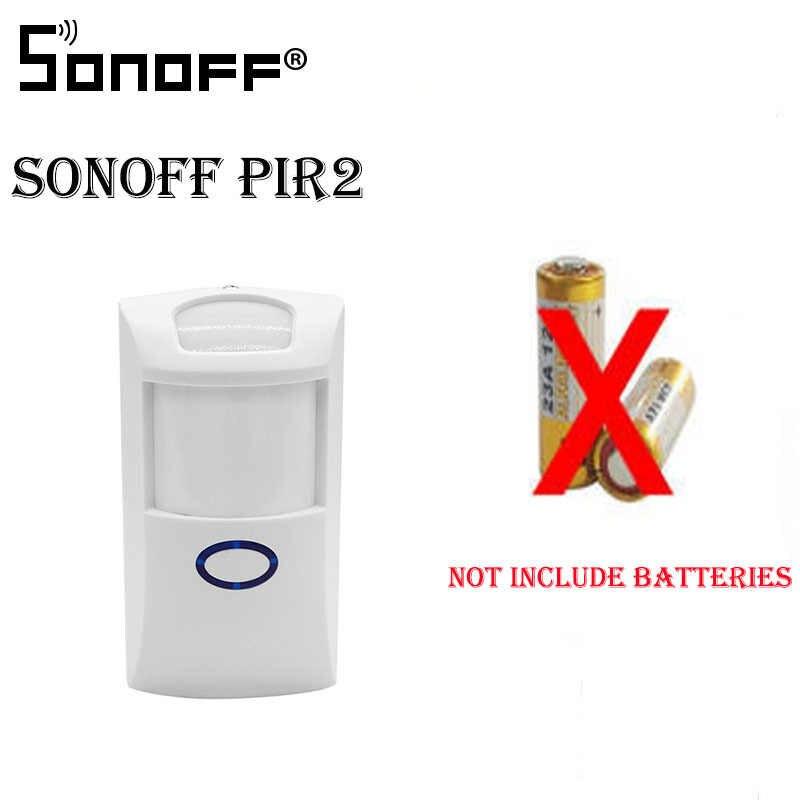 Sonoff puente RF WiFi 433 MHz PIR 2 Sensor/DW1 interruptor de automatización inteligente Domotica WiFi remoto RF controlador