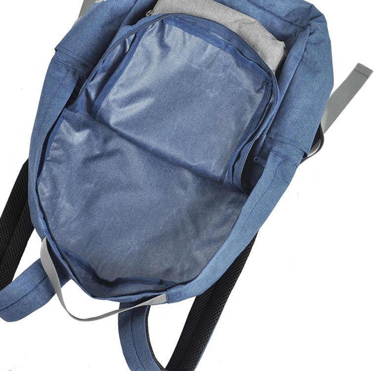 Легкий Рюкзак складная сумка спортивные путешествия ноутбук рюкзак Для женщин многофункциональные дорожные сумки вместительный рюкзак плеча