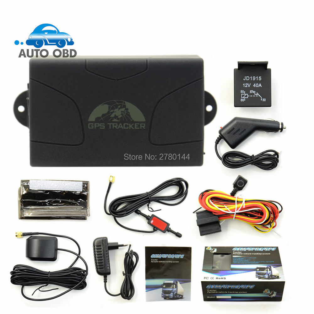 ФОТО Coban GPS104 Latest Version Real Time GSM/GPRS/GPS car tracking device TK104 Standby 60 days gps tracker TK 104