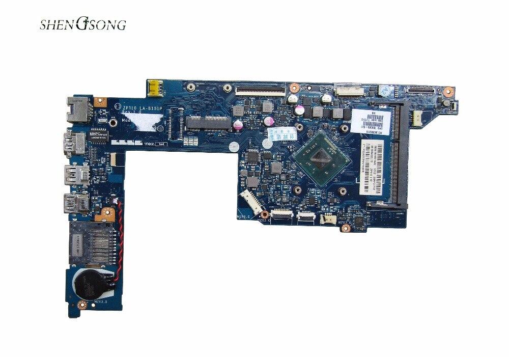 789089-501 Livraison Gratuite ZPT10 LA-B151P 789089-001 Mère D'ordinateur Portable pour HP x360 310 G1 11-N carte mère N3540 CPU 100% Testé