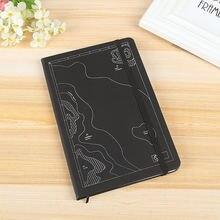 107*18 см простой бизнес блокнот из мягкой кожи для ноутбука