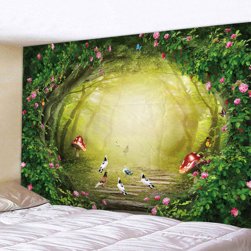 3D Abstract Patten Printed Tapestry Livingroom And Bed Room Decortion Sandy Beach Picnic Towel in Tapestry from Home Garden