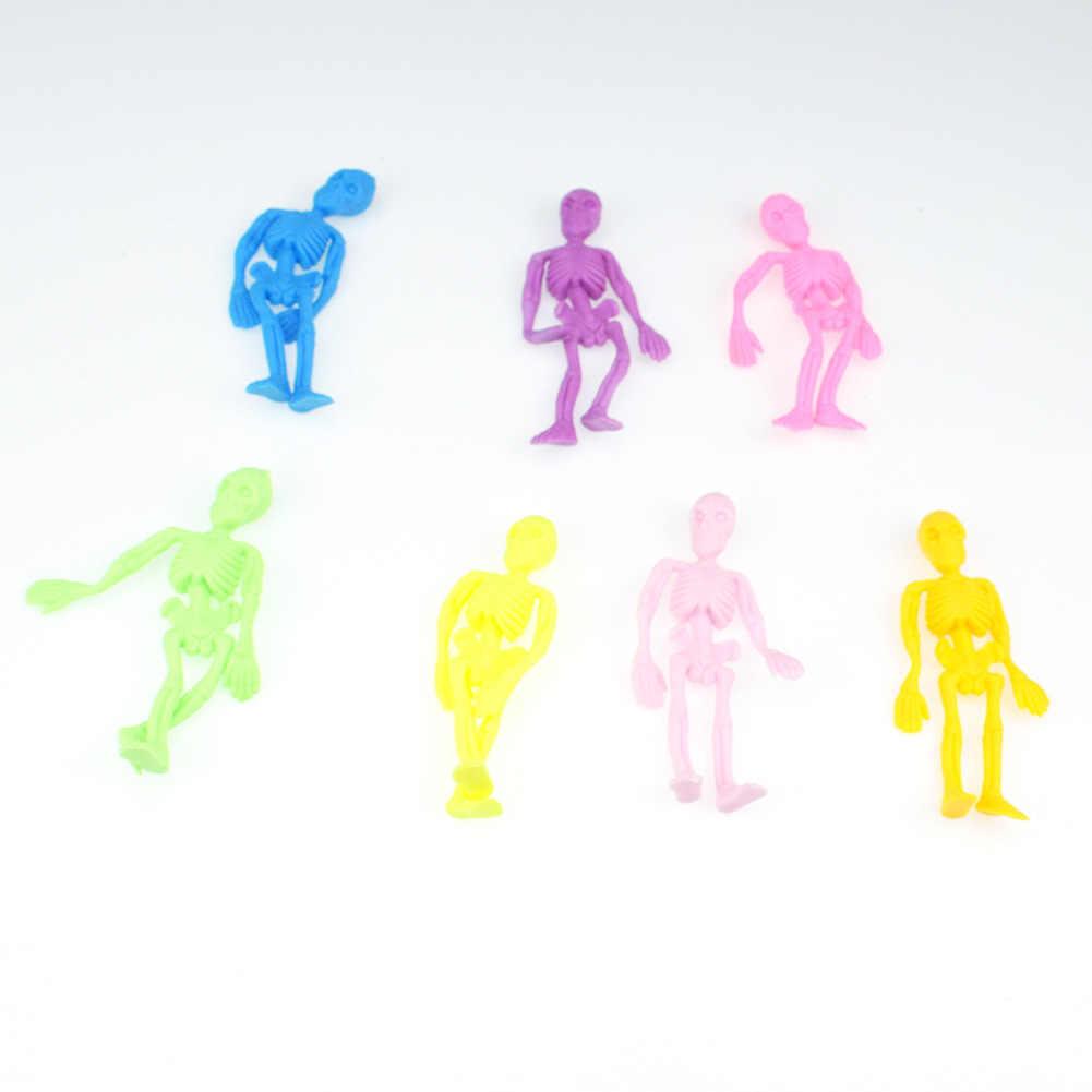 Сжатие антистресс Скелет Новинка и кляп игрушки Squeeze Шуточный розыгрыш эластичные игрушки забавные игрушки для снижающий беспокойство GYH