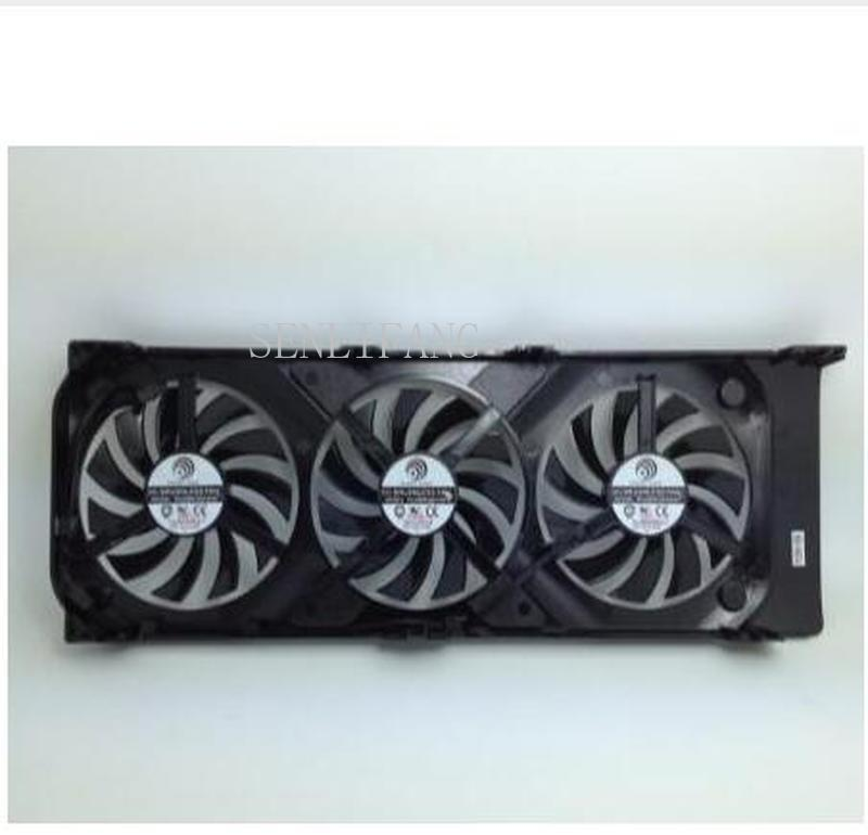 Free Shipping Original FONSONING For MAXSUN GTX770 Graphics Card Fan PLA08010S12HH 12V 0.35A
