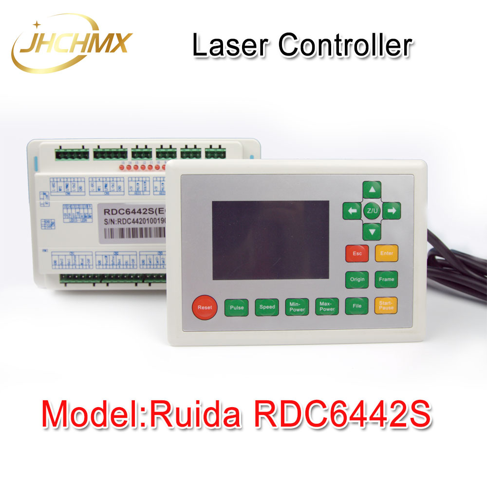 Free Shipping Ruida RDC6442S Co2 Laser Spare Parts Laser Machine Controler Co2 Laser Controller System цена