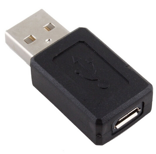 USB 2.0 Male A to Micro USB B 5 Pin Female Adapter Connector #DY180
