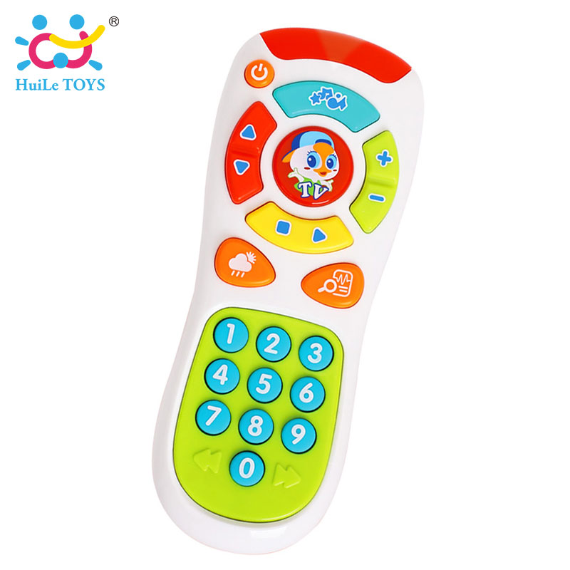HUILE-TOYS-3113-Baby-Toys-Electric-Click-Count-Remote-with-Light-Music-Kids-Early-Learning-Educational-Toys-for-Toddler-Gift-2