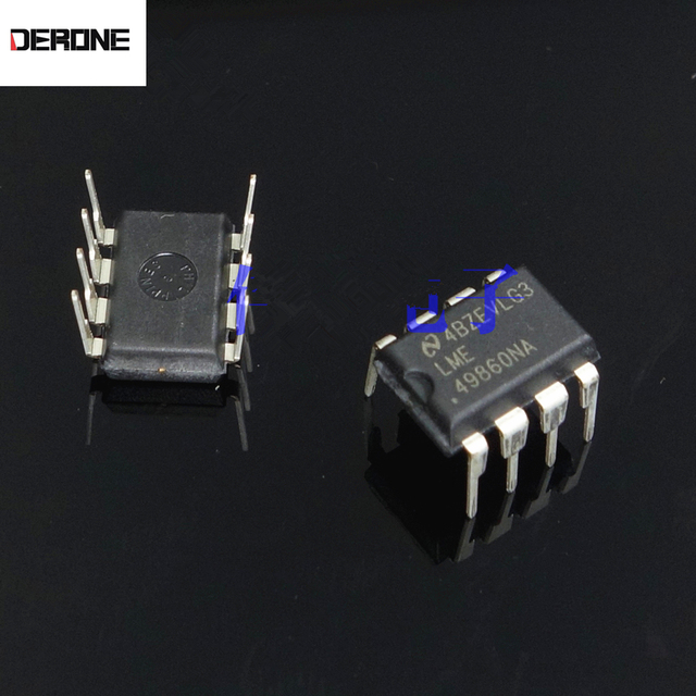 1 ชิ้น Original LME49860NA คู่ op amp 49860 สำหรับเครื่องขยายเสียง