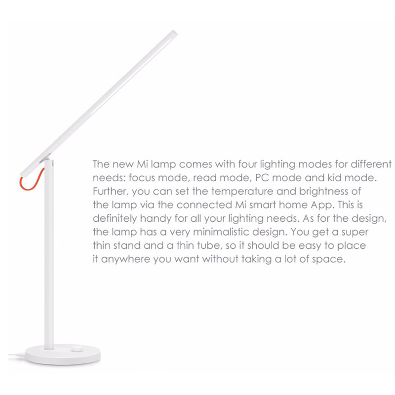 Original Xiaomi Mijia Desk Lamp 6W 2700K-6500K 300 Lm LED Smart Table Lamps Desklight Xiaomi Led Light Study Lamps with APP