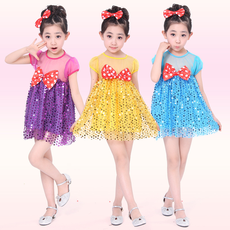 Lace Sequins Princess Dress red dot bow girl dresses Party Role-play Costume Girl Summer Brand Toddler Girls Clothes