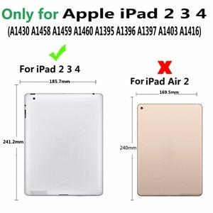 Image 2 - Detach Wireless Bluetooth Keyboard Case for Apple iPad 2 3 4 iPad2 iPad3 iPad4 9.7 Cover with Screen Protector Film Stylus Pen