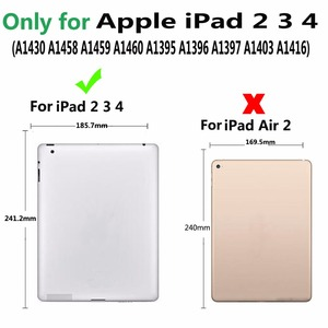 Image 2 - Odłącz bezprzewodowy futerał na klawiaturę Bluetooth dla Apple iPad 2 3 4 iPad2 iPad3 iPad4 9.7 pokrowiec z osłoną ekranu Film rysik